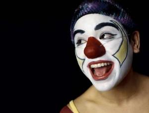 clown pour spectacle