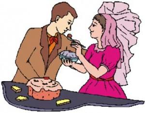 Les joyeux mariés