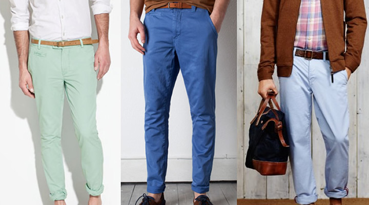 mode chino homme