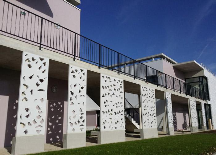 parement façade