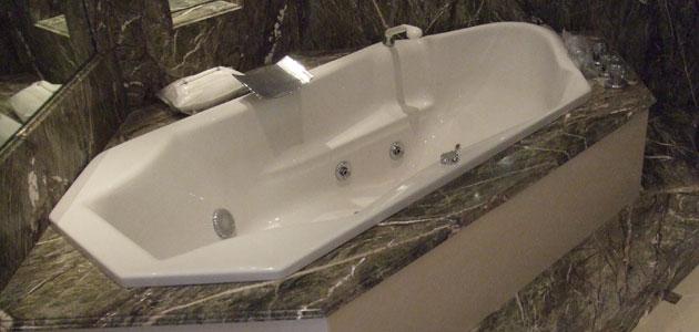 salle de bain granit