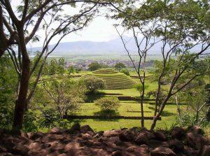 Guachimontones à Jalisco au Mexique