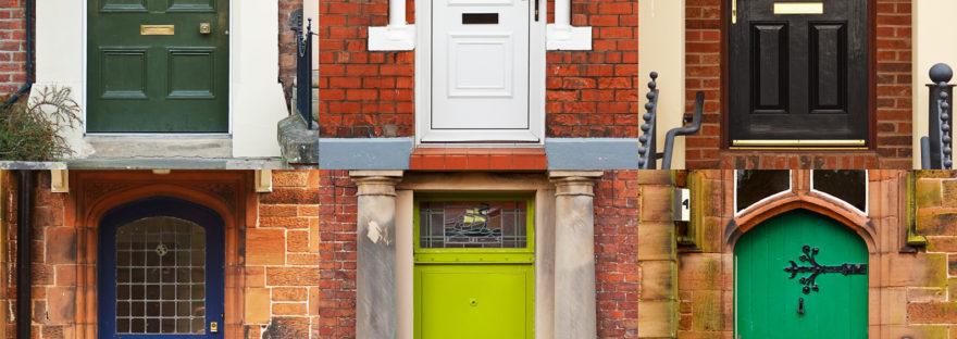 Peindre votre porte d'entrée